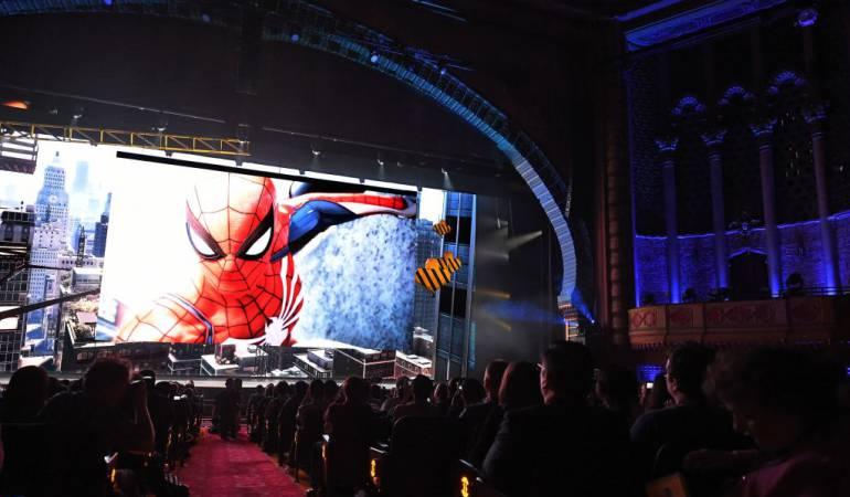 Presentación de juegos en el E3, por parte de Sony