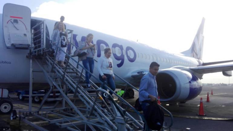 Aerolineas bajo costo Colombia: Aerolíneas de bajo costo dominan 16% del mercado aéreo doméstico del país