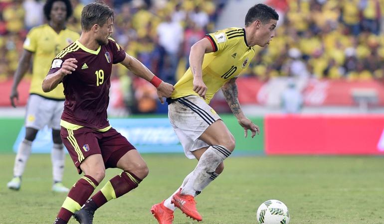 La Vinotinto jugará ante Colombia en Pueblo Nuevo