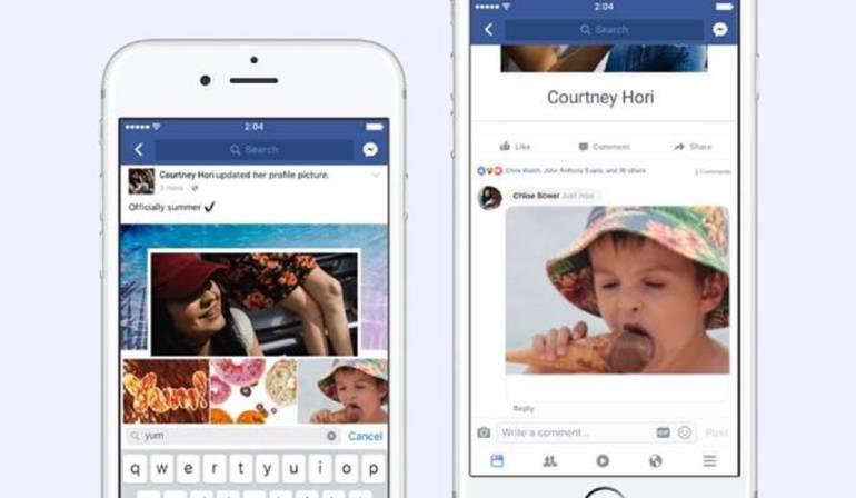 Facebook , GIFs en comentarios de Facebook: Facebook celebra 30 años de los GIFs incluyéndolos en los comentarios