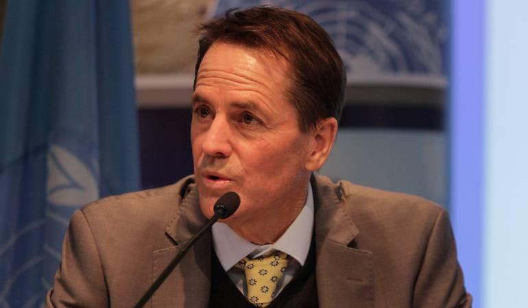 Todd Howland delegado de Naciones Unidas para los Derechos Humanos en Colombia