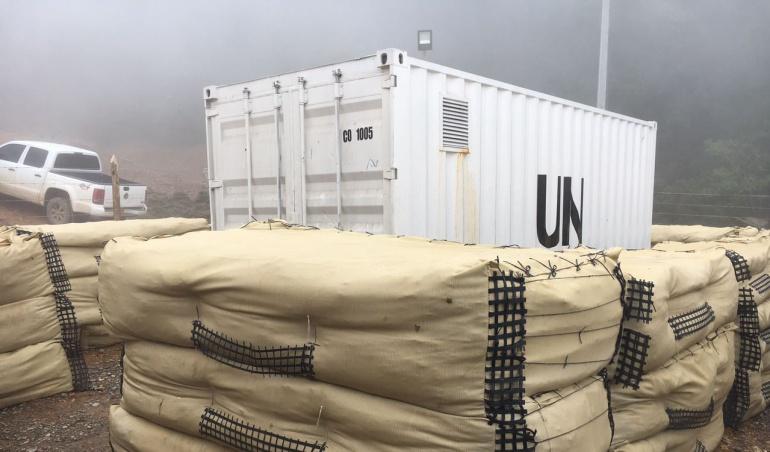 Dejación armas Farc: La ONU asegura que ya tiene en su poder el 60% de las armas de las Farc