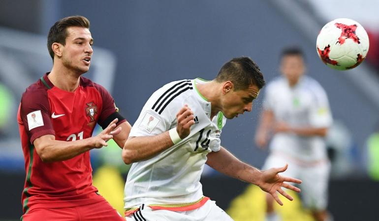 Copa Confederaciones: En el descuento, México empata con Portugal en la Copa Confederaciones