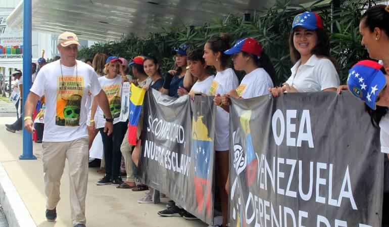 Venezolanos en México