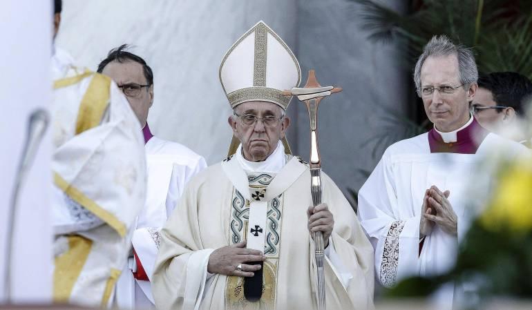 Papa Francisco celebra el Corpus Christi