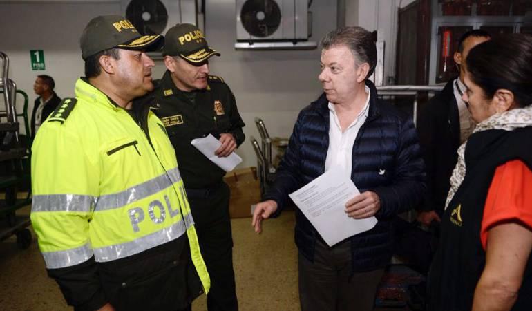 Gobierno colombiano tiene tres hipótesis sobre atentado terrorista en Bogotá