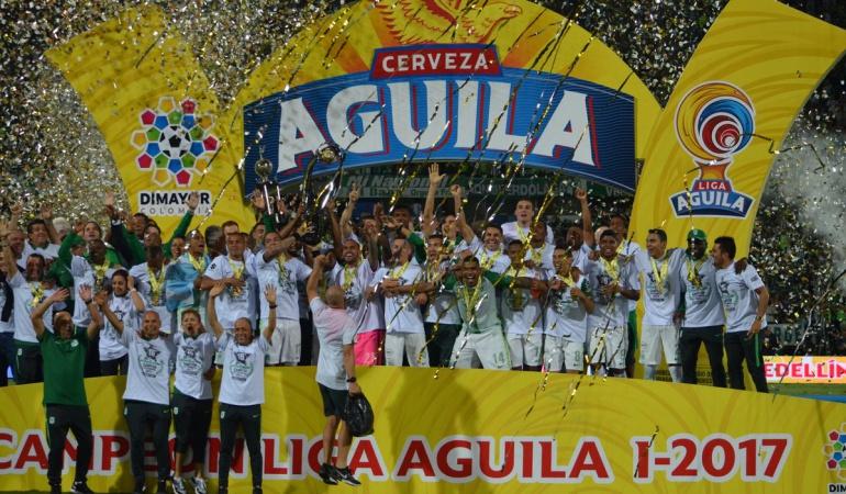 Atlético Nacional Vs. Deportivo Cali: ¡Atlético Nacional: 16 veces campeón del fútbol colombiano!