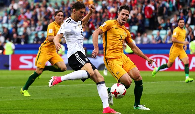 Copa Confederaciones: Con sufrimiento, Alemania vence a Australia por Copa Confederaciones