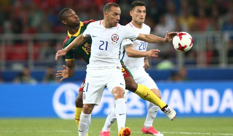 Copa Confederaciones: El VAR le quita la esencia al fútbol: Marcelo Díaz