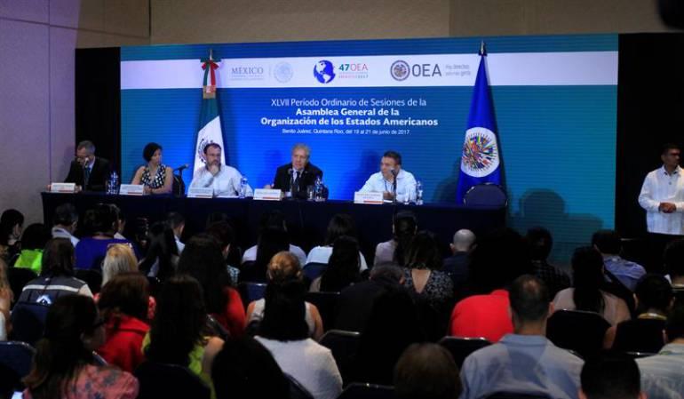 Venezuela OEA: OEA votará una nueva resolución sobre Venezuela que tiene apoyos suficientes