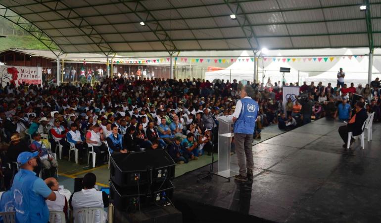 Última fase de desarme de las FARC termina a finales de junio