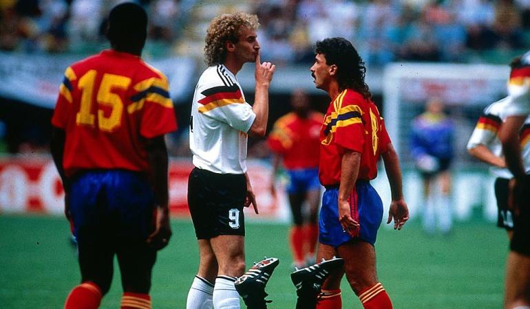 Colombia 1-1 Alemania: Colombia 1-1 Alemania: 27 años de la hazaña en Italia 1990