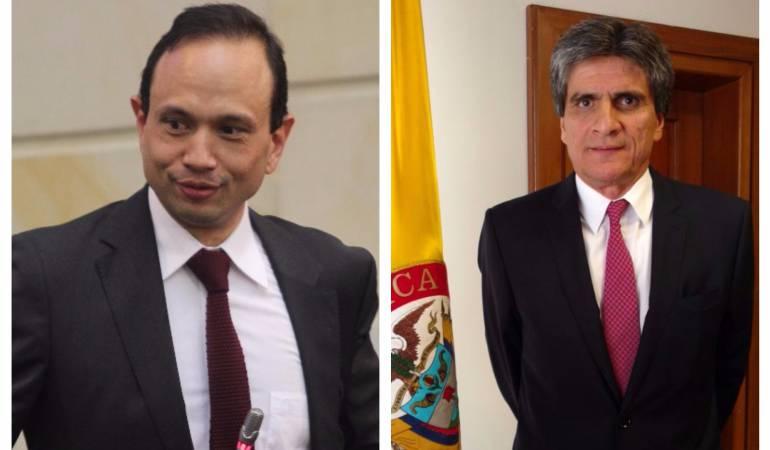 Carlos Bernal y Antonio José Lizarazo.