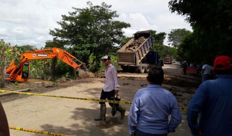 Hay paso provisional en la vía Arauca - Arauquita