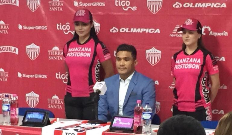 ´Teo' Gutiérrez: Es un sueño para mí, lo voy a dar todo: ´Teo' Gutiérrez