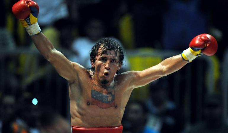 Valero llevó la bandera de Venezuela y el rostro de Hugo Chávez tatuados por los cuadriláteros de medio mundo.