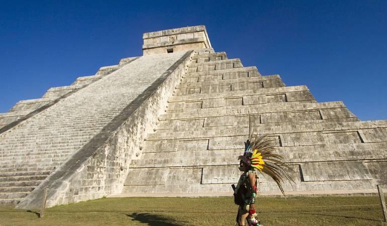 Chichen-Itzá es uno los tesoros arqueológicos de México.