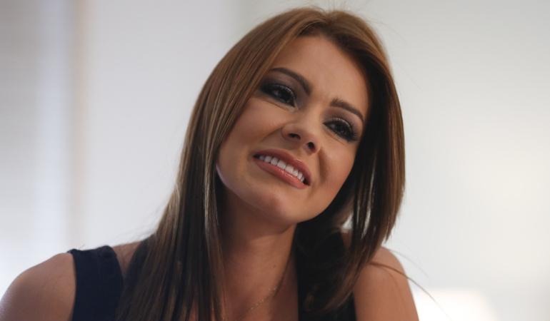 La actriz de cine para adultos Esperanza Gómez.
