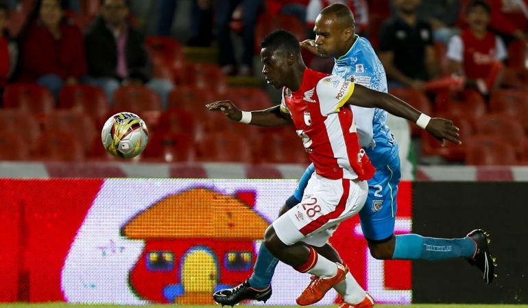Yamilson Rivera Fútbol Colombia: Yamilson Rivera regresa a Independiente Santa Fe