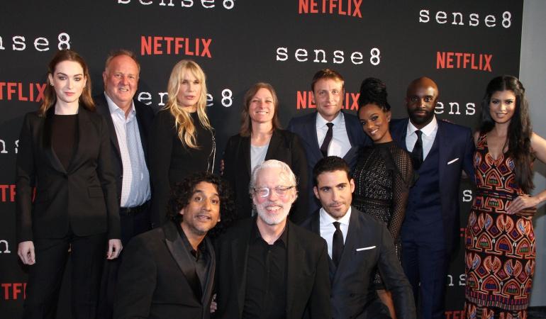 """Elenco de la serie """"Sense8"""" de Netflix."""