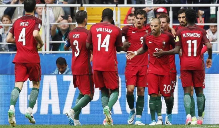 Portugal México Copa Confederaciones: Portugal vence a México y se queda con el premio de consolación