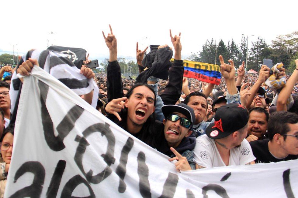 Durante tres días, la capital del país fue epicentro de cultura rockera. Más de 60 bandas nacionales e internacionales se presentaron en el Parque Simón Bolívar. Draco Rosa fue el encargado de cerrar, con broche de oro, está edición del festival.