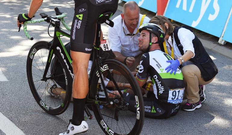 Tour de Francia: Nueva baja en el Tour: Cavendish se retira por su incidente con Sagan