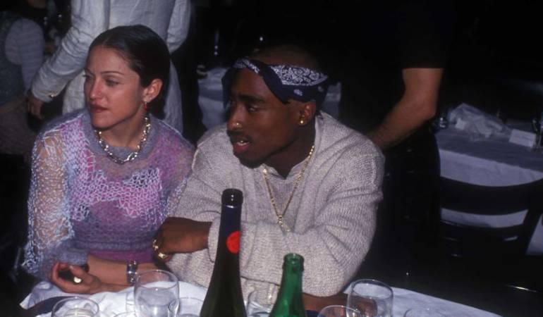 Madonna y Tupac Shakur