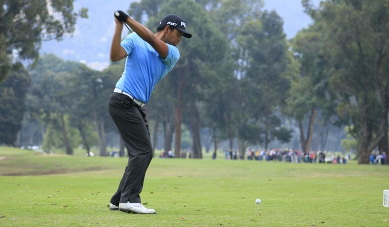 Golf PGA: Sebastián Muñoz, líder en primer día del Greenbrier Classic de golf