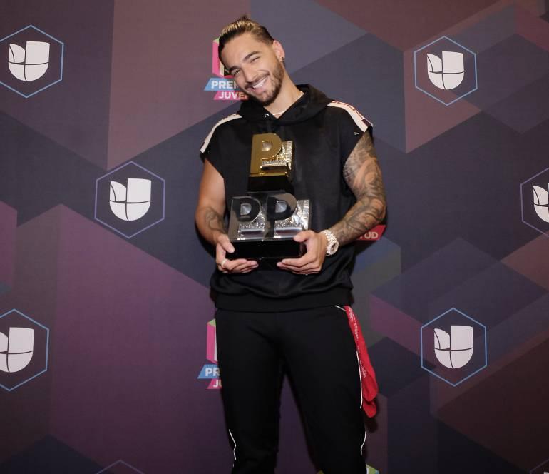 Maluma, el máximo ganador de los Premios Juventud