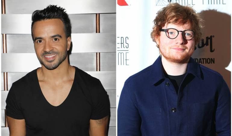 Luis Fonsi y Ed Sheeran.