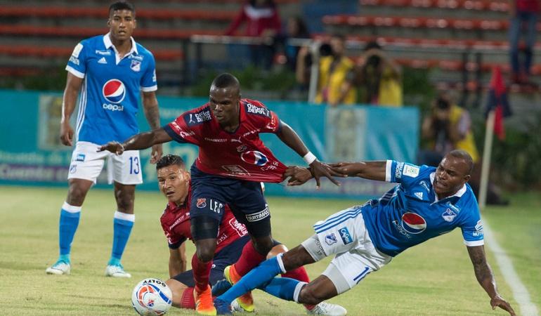 Liga Águila: Medellín y Millonarios no se hicieron daño en el inicio de Liga Águila