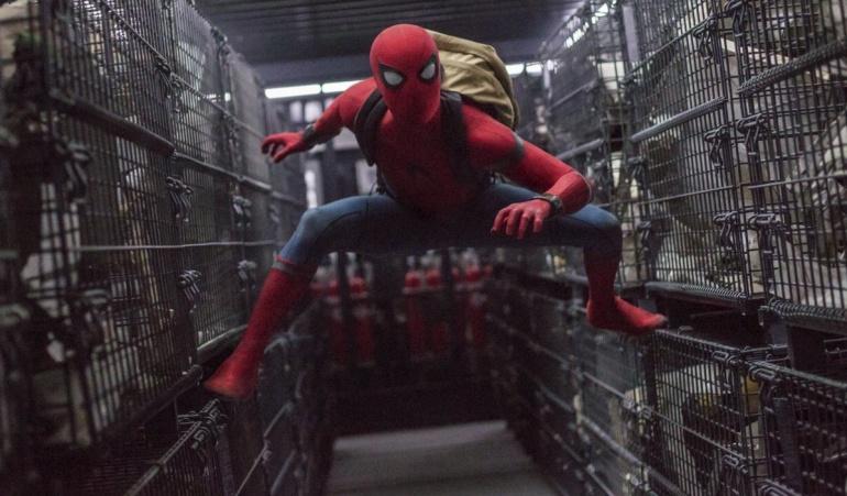 """La cinta """"Spiderman:Homecoming"""" se realizó bajo acuerdo entre las compañías Sony Pictures y Marvel Studios."""