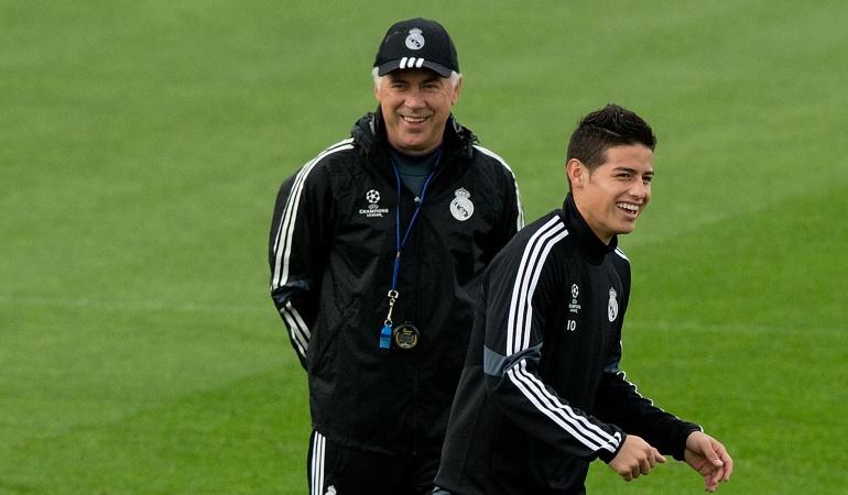 James Bayern Múnich: Con Ancelotti, James logró su mejor nivel en el Real Madrid