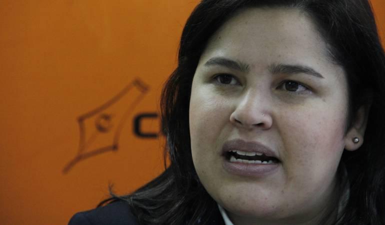 Directora del Icfes, Xiména Dueñas.