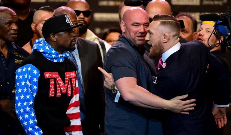 Lanzan promocional de la pelea entre Floyd Mayweather y Conor McGregor
