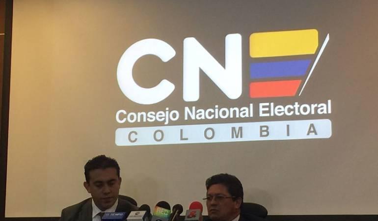 CNE Campañas Santos Zuluaga: Magistrados del CNE ganarán $31 millones mensuales
