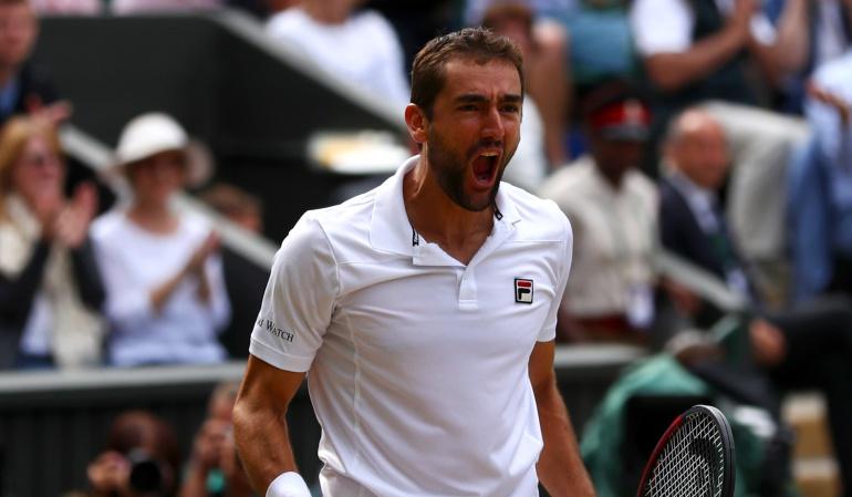 Cilic llega a la final de Wimbledon por primera vez
