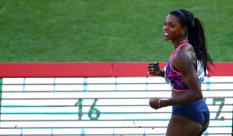 Atletismo: ¡Ganadora! Caterine Ibargüen se impone en Reunión de Atletismo