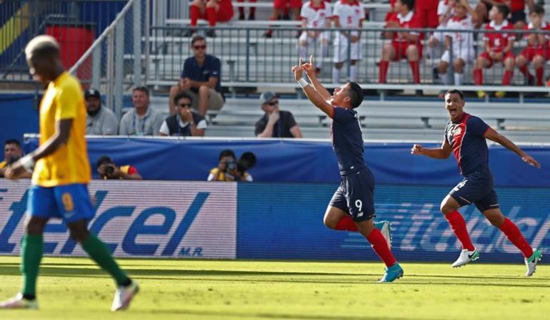 Costa Rica certificó su paso a la siguiente fase de Copa Oro
