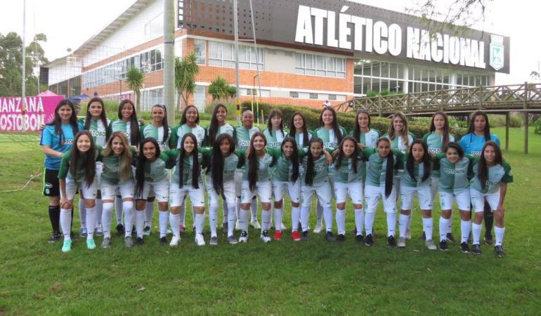 liga femenina: Se mueve la liga femenina: Nacional presentó su equipo