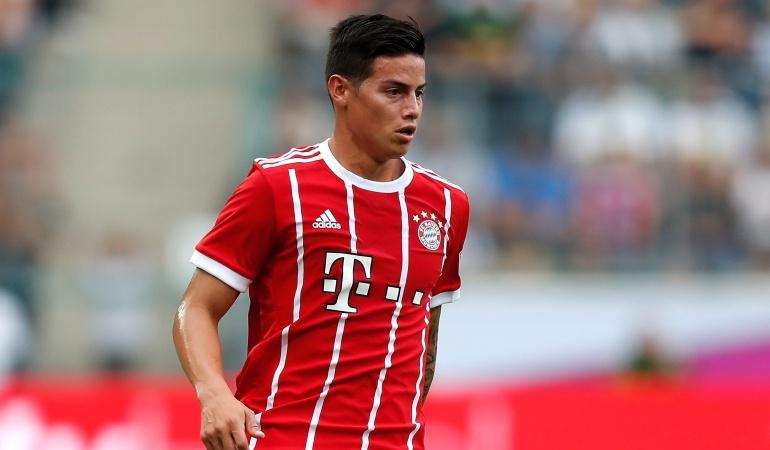 James Bayern Múnich: James tiene sus primeros minutos con el Bayern y ganan la Copa Telekom