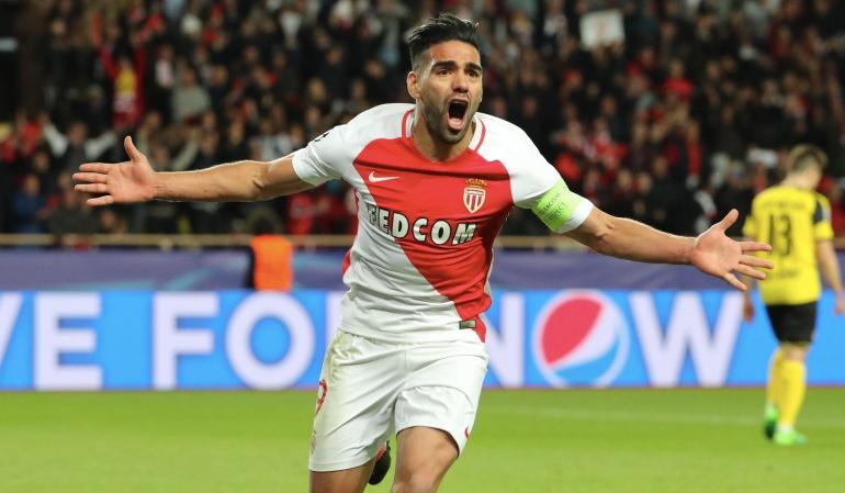 Falcao: Falcao marcó gol en el primer partido de la pretemporada