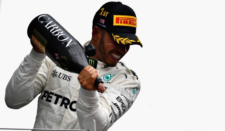 Hamilton Silverstone: Hamilton ganó en Silverstone por cuarta ocasión consecutiva