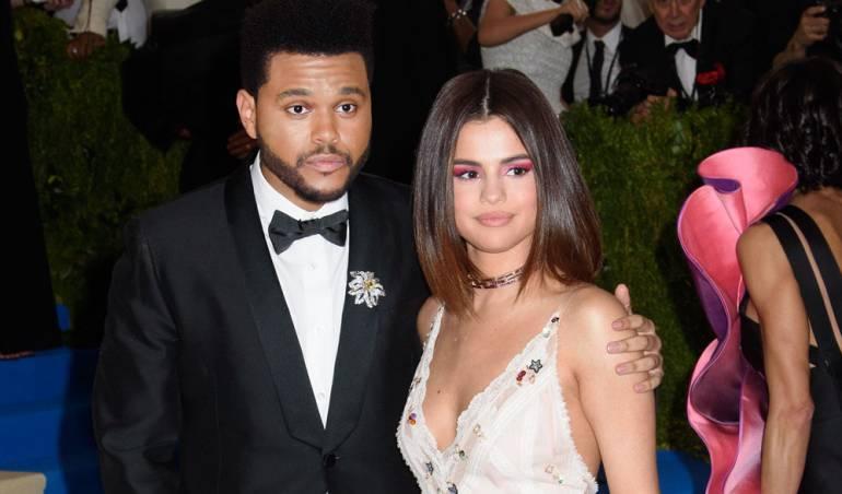The Weeknd y Selena Gómez.