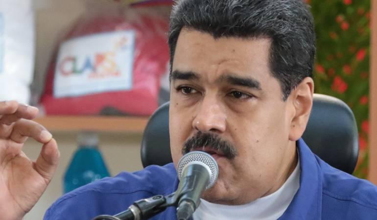 """Plebiscito en Vennezuela: Maduro dice que el referendo opositor es una """"consulta interna"""" de partidos"""
