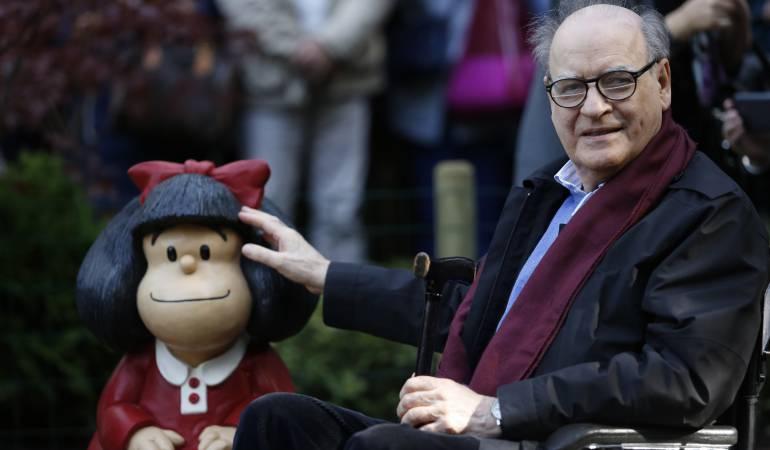 """Joaquín Salvador Lavado """"Quino"""", creador de Mafalda"""