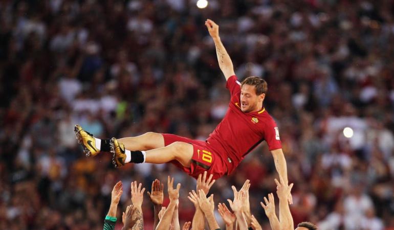 Totti: Totti empezará una nueva carrera como directivo de la Roma