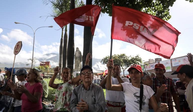 """Simulacro venezuela: Extienden simulacro de Constituyente por filas """"interminables"""", dice chavismo"""