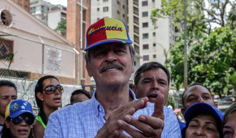 Ex presidente de México declarado persona no grata por gobierno Maduro: Gobierno venezolano declara persona no grata al expresidente Vicente Fox